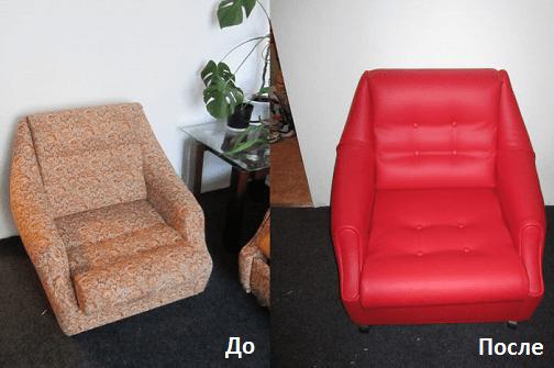 Реставрация мебели до и после
