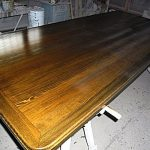 Самодельная деревянная столешница для кухни