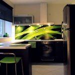 Современное решение для кухни без навесных шкафов