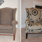 Старое кресло в новое обивке