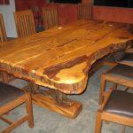Столешница для кухонного стола из натурального дерева