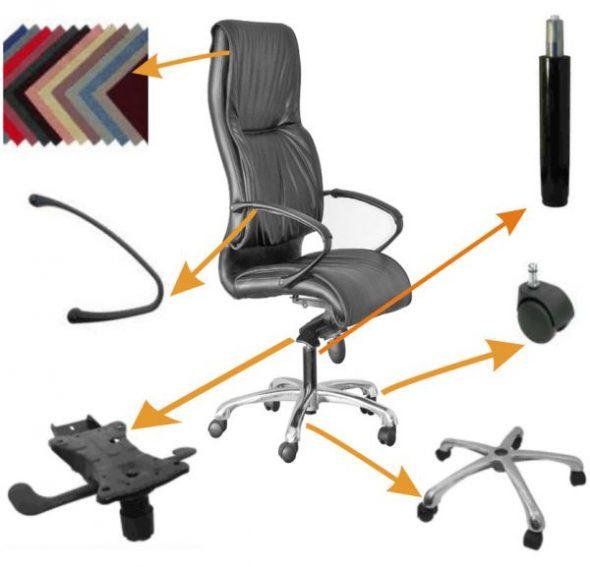 Детали компьютерного кресла