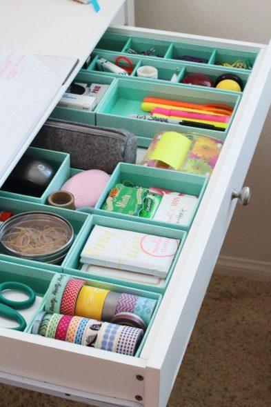 Хранение в ящиках