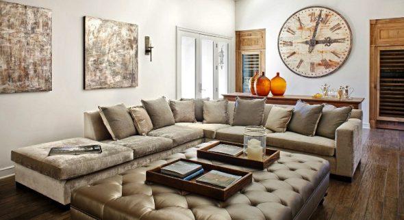 Выбор дивана в зависимости от площади