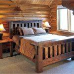 Дачная кровать из бруса своими руками