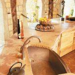 Каменная столешница на кухню своими руками