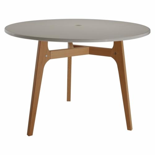 Круглый стол на 3 ножках