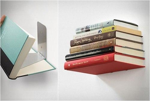 Полка-невидимка для книг