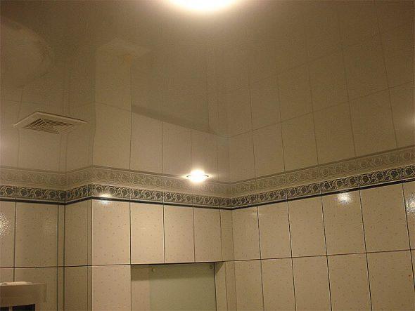 Сплошной зеркальный потолок