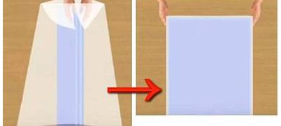 Раскрываем одеяло в ширину