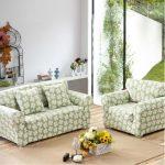 Цветочные диван и кресло своими руками