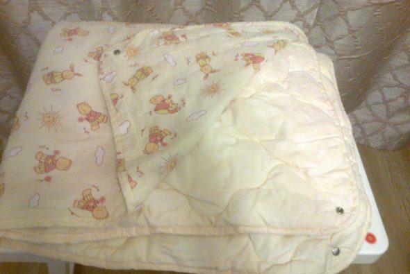 Двойное детское одеяло