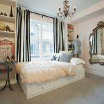 Персиковое воздушное покрывало для односпальной кровати