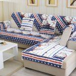 Покрывало на диван в морском стиле