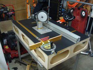 Пример изготовленного рабочего стола