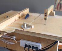 Самодельный стол для циркулярки
