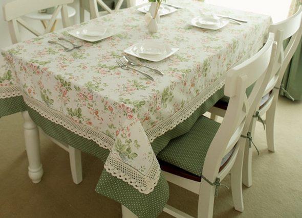 Скатерть для кухни в стиле прованс