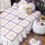 Цветочные мотивы для спального комплекта девочки