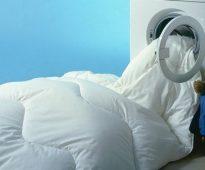 Стирка одеял дома