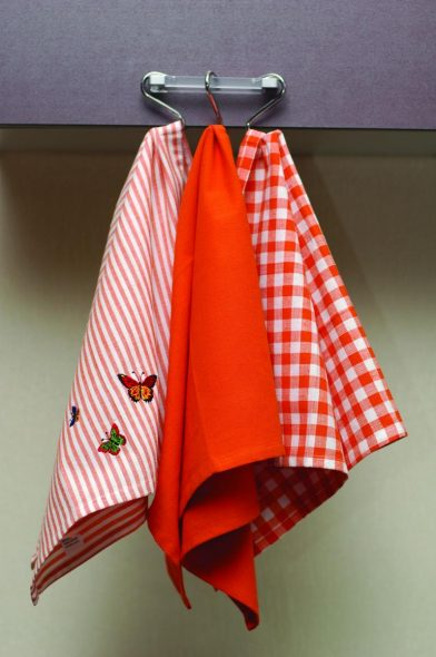 Хлопковые кухонные полотенца