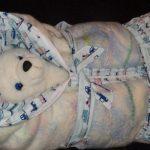 Одеяло-конверт для малыша своими руками
