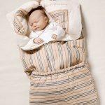 Полосатое детское одеяло-трансформер