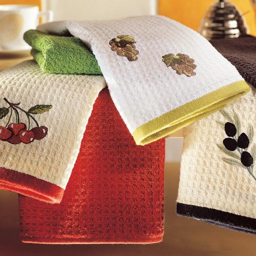 Полотенца из разных тканей