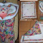 Самодельное одеяло, трансформирующееся в конверт