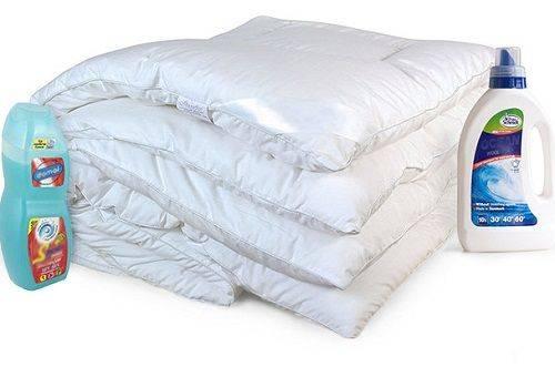Гель для стирки одеяла