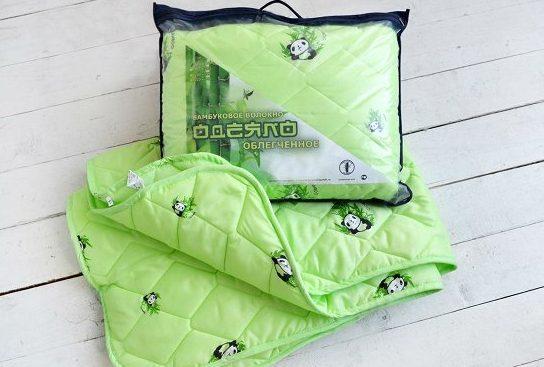 Бамбуковое облегченное одеяло