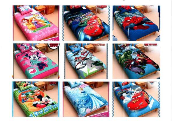Одеяла с принтами