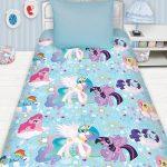 Детский комплект постлеьного с пони для девочки