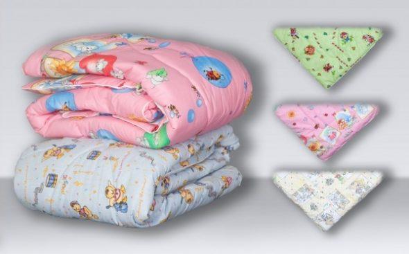 Детское одеяло из холлофайбера