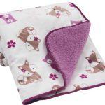 Двустороннее станартное одеяло для дошкольника