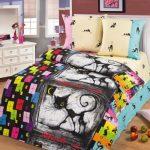 Комплект постельного белья в спальню девочки подростка