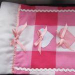 Красивое кукольное постельное с бантиками и сердечками