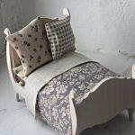 Кроватка с постельным очень понравится вашей дочке