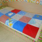 Лоскутное одеяло на односпальную кровать