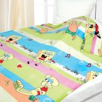 Мультяшное одеяло для дошкольника