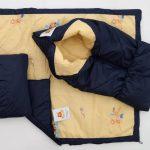 Одеяло-трансформер для новорожденного - зимний вариант