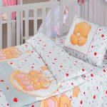 Оригинальный мишки для детского постельного комплекта