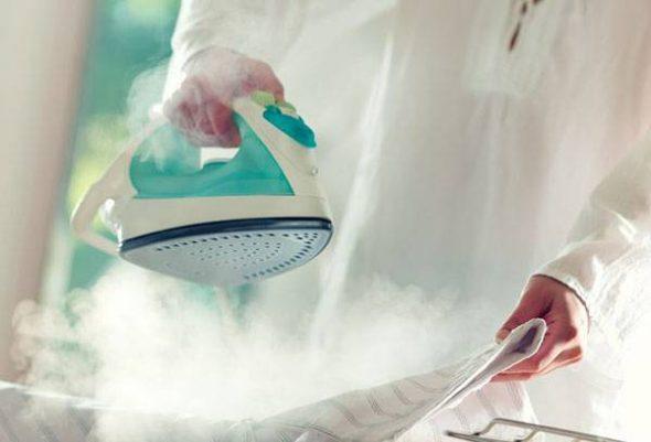 Соответствие температуры утюга и ярлачка одежды