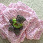 """Плед для малышки """"Розовая нежность"""""""