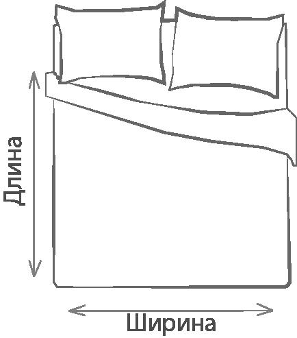 Полуторное одеяло – это односпальное изделие