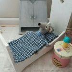 Постельный комплект для мягкого мышонка