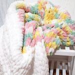 Разноцветное плюшевое облако для малыша