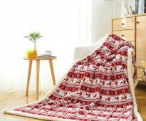 Шерстяные одеяла красивые и удобные