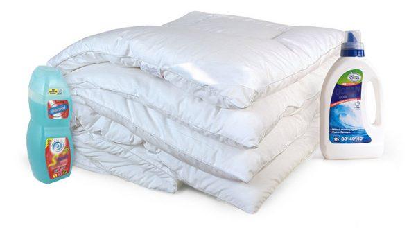 Гели для стирки одеяла