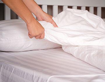 Свежесть постельного после стирки