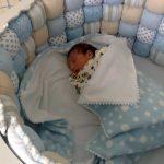Тонкое плюшевое одеяло в кроватку новорожденного